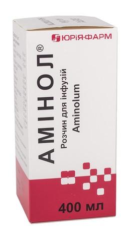 Амінол розчин для інфузій 400 мл 1 флакон