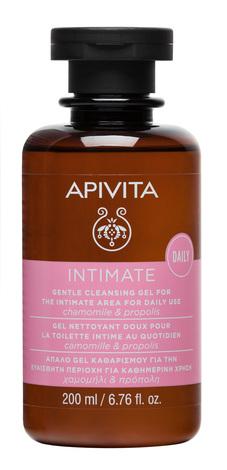 Apivita Intimate Гель для інтимної гігієни Посилений захист з чайним деревом і прополісом 200 мл 1 флакон
