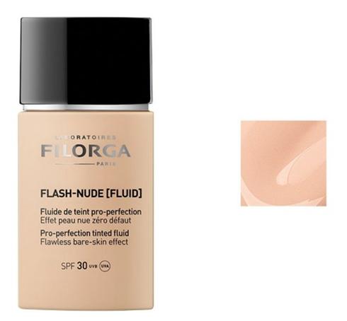 Flash Nude Флюїд тонуючий для вирівнювання кольору шкіри SPF 30 тон бежевий 30 мл 1 туба