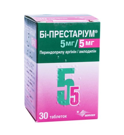 Бі-Престаріум таблетки 5 мг/5 мг  30 шт