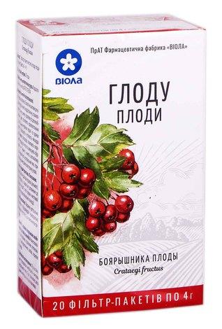 Віола Глоду плоди 4 г 20 фільтр-пакетів