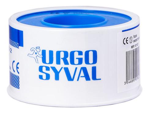 Urgo Ургосівал пластир повітропроникний з тафти 5 м x 2,5 см білий 1 шт
