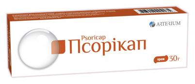 Псорікап  крем 2 мг/г 30 г 1 туба