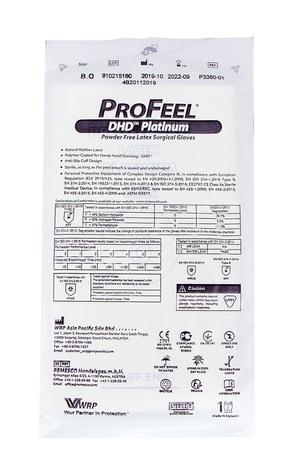 ProFeel DHD Platinum Рукавички хірургічні латексні стерильні неприпудрені розмір 8 1 пара