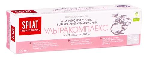 Splat Professional Зубна паста Ультракомплекс 100 мл 1 туба