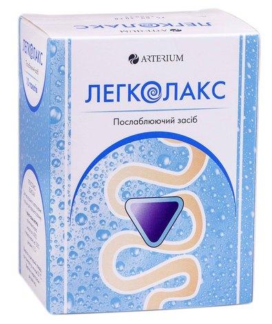 Легколакс порошок для орального розчину 10 г 10 пакетів-саше