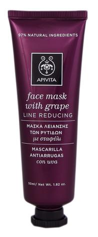 Apivita Маска для обличчя Зменшення зморшок з виноградом 50 мл 1 туба