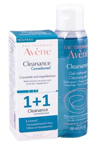 Avene Cleanance Comedomed концентрат 30 мл + гель очищувальний 100 мл 1 набір