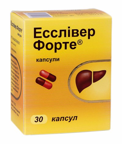 Есслівер Форте капсули 30 шт