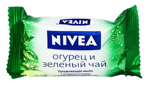 Nivea Мило Огірок та Зелений чай 90 г 1 шт
