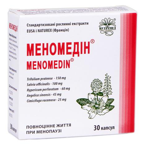 Меномедін капсули 30 шт