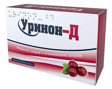 Уринон-Д капсули 30 шт