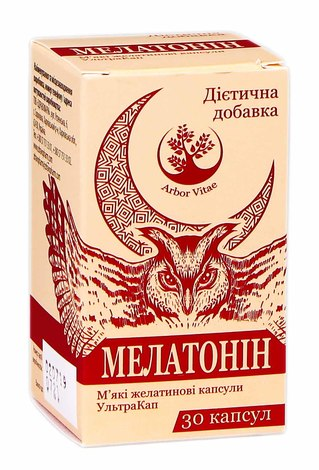 Arbor Vitae Мелатонін капсули 30 шт