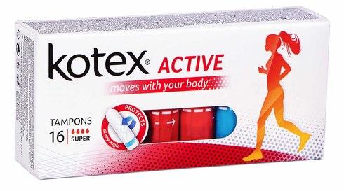 Kotex Active Super Тампони 16 шт