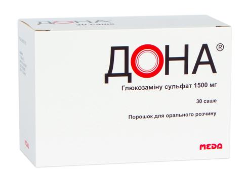 Дона порошок для орального розчину 1500 мг 30 шт