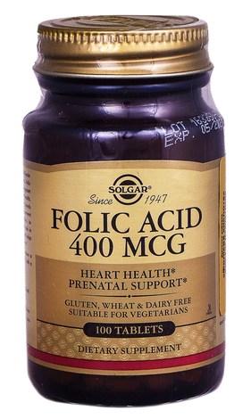 Solgar Фолієва кислота таблетки 400 мкг 100 шт