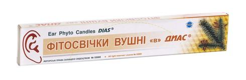Діас Фітосвічки вушні для дорослих пакет 2 шт