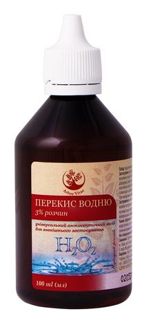 Arbor Vitae Перекис водню розчин для зовнішнього застосування 3 % 100 мл 1 флакон