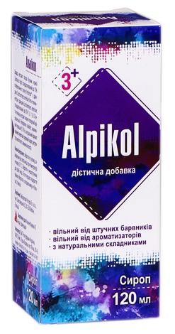 Альпікол сироп 120 мл 1 флакон