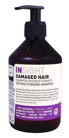 Insight Шампунь для відновлення пошкодженого волосся 400 мл 1 флакон