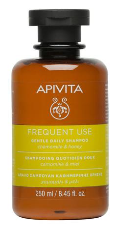 Apivita Шампунь делікатний для щоденного використання з ромашкою та медом 250 мл 1 флакон