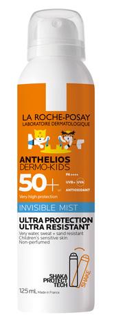 La Roche-Posay Anthelios Дермо-педіатрікс ультралегкий спрей-міст SPF 50+ 125 мл 1 флакон