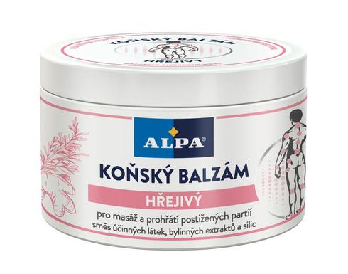 Alpa Бальзам Кінський зігріваючий 250 мл 1 банка