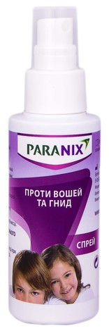 Paranix Спрей проти вошей та гнид спрей 100 мл 1 флакон