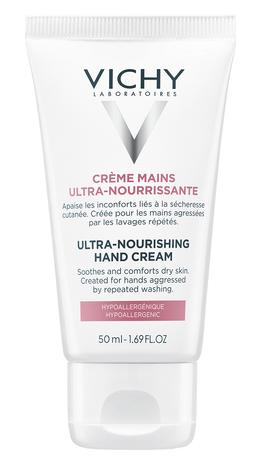 Vichy Крем ультра живильний із заспокійливим ефектом для всіх типів шкіри рук 50 мл 1 туба