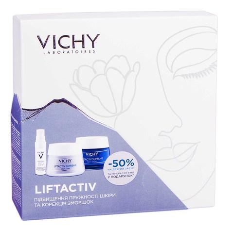 Vichy Liftactiv Supreme Крем денний для обличчя 50 мл + Крем нічний для обличчя 50 мл 1 набір
