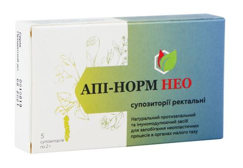Апі-норм Нео супозиторії ректальні 5 шт