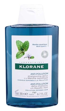 Klorane Aquatic Mint Очищуючий детокс шампунь для волосся 200 мл 1 флакон