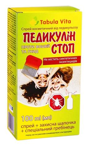 Tabula Vita Педикулін Стоп спрей 100 мл 1 туба
