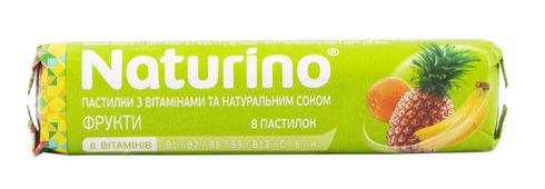 Naturino Фрукти льодяники 10 шт