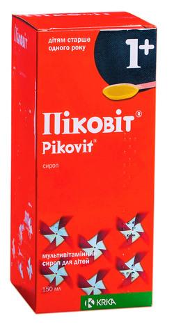 Піковіт сироп 150 мл 1 флакон