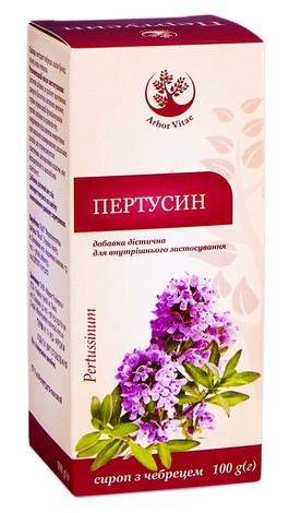 Arbor Vitae Пертусин сироп 100 мл 1 флакон