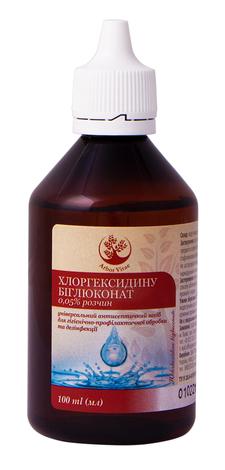 Arbor Vitae Хлоргексидину біглюконат розчин зовнішній 0,05 % 100 мл 1 флакон