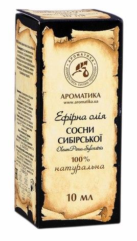 Ароматика Олія ефірна сосни сибірської 10 мл 1 флакон