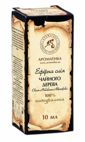 Ароматика Олія ефірна чайного дерева 10 мл 1 флакон