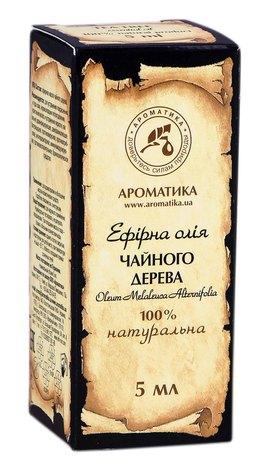 Ароматика Олія ефірна чайного дерева 5 мл 1 флакон