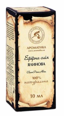 Ароматика Олія ефірна ялинова   10 мл 1 флакон