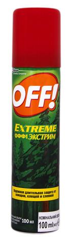 Off Аерозоль від комарів кліщів і гедзів 100 мл 1 флакон