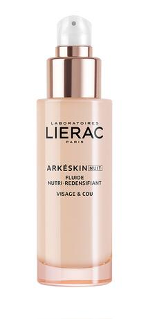 Lierac Arkeskin+ Флюїд нічний живильний, що підвищує щільність шкіри 50 мл 1 флакон