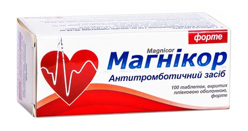 Магнікор форте таблетки 150 мг 100 шт