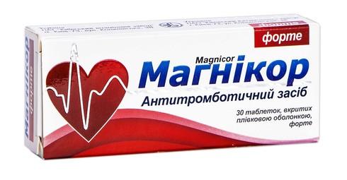 Магнікор форте таблетки 150 мг 30 шт