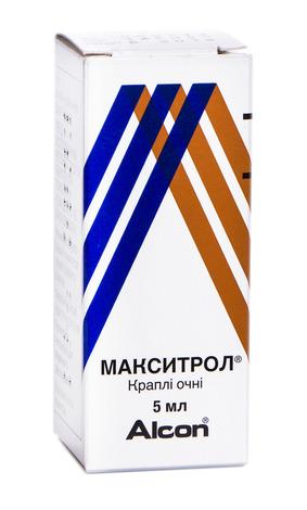 Макситрол краплі очні 5 мл 1 флакон