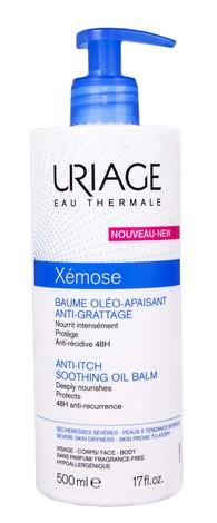 Uriage Xemose Бальзам-олія заспокійливий, що пом'якшує свербіж 500 мл 1 флакон