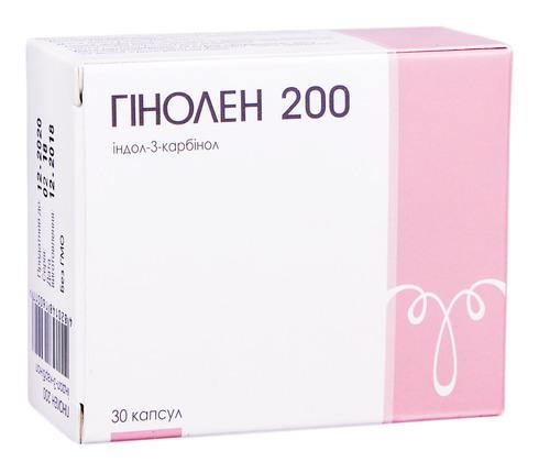 Гінолен капсули 200 мг 30 шт