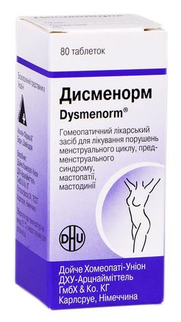Дисменорм таблетки 80 шт