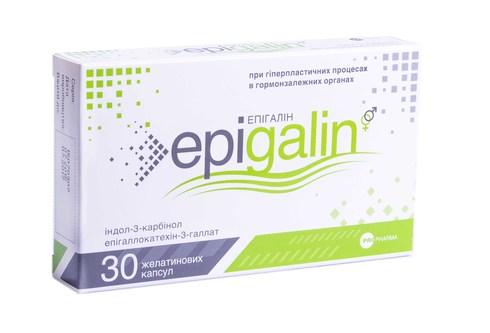 Епігалін капсули 30 шт